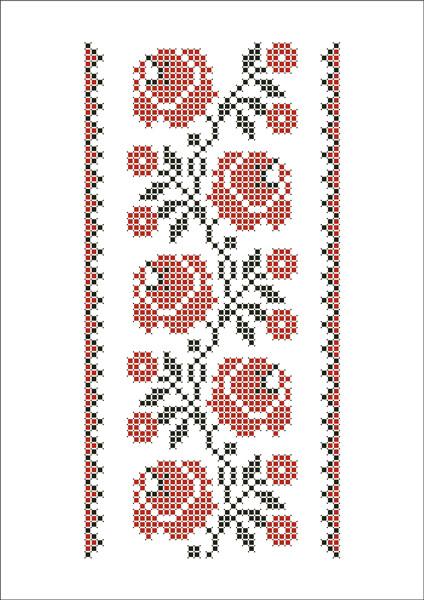 ФВМ-034. Схема для вишивки бісером на водорозчинному флізеліні