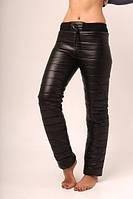 Женские теплые штаны плащевка +  синтепон