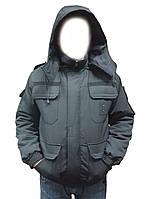 Куртка бушлат Зима для Охраны и Полиции.