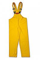 Полукомбинезон из материала пвх, водонепроницаемый 7973 (желтые) - размер xl BETA