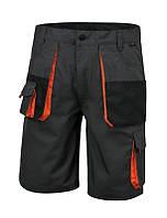 Брюки рабочие короткие, серые easy 7901e - размер xxl BETA