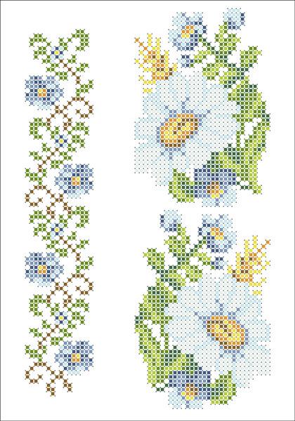ФВМ-039. Схема для вишивки бісером на водорозчинному флізеліні