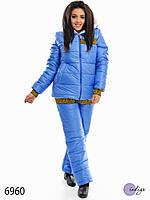 """Спортивный костюм женский зимний больших размеров """"Снежка"""""""