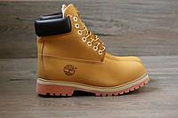 Зимние ботинки Timberland  тимберленд  нат.нубук,нат.мех,полиуретановая подошва до -22 р-р 37-45 Индонезия