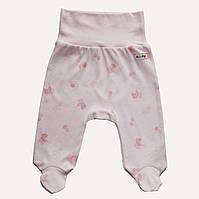 Штанишки для новорожденных розовые