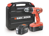 Шуруповерт Black&Decker epc18cabk 18В 2x1,0 Ач
