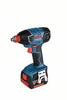 Аккумуляторный шуруповерт ударного-вращения gdx 14,4 v-li 2x4,0ah professional BOSCH