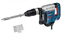 Перфоратор  ударный Bosch gsh 5ce  sds-max 1150Вт + 6 зубил