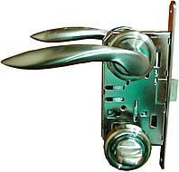 Ручки дверные межкомнатные комплект AL-0027(SN)