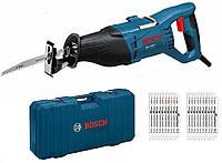 Пила сабельная Bosch gsa 1100 e 1100 вт + аксессуары (кейс)