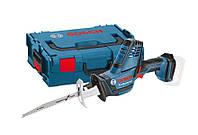 Пила сабельная Bosch gsa18v-li c solo l-boxx