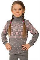 Теплый модный свитер для девочки (разные цвета)