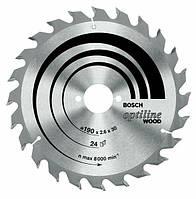 Пильный диск opti 184x2,6x16x24z BOSCH