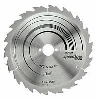 Пильный диск speed 190x2,6x30x12z BOSCH