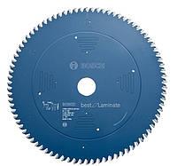 Пильный диск top laminate o-r 254x30 BOSCH