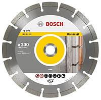 Алмазный отрезной диск 115x22 seg универсальный BOSCH