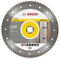 Алмазный отрезной диск 115x22 универсальный BOSCH