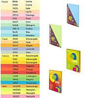 Папір кольоровий 80г/м, А4 Uni Color Mix 50арк. (154044)
