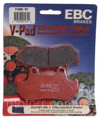 Тормозные колодки EBC FA069/3V