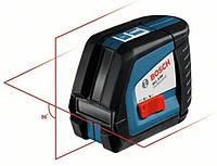 Лазерный перекрестный нивелир  gll2-50 + штатив bs150, в картонной коробке BOSCH