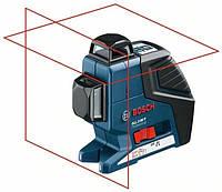 Линейный лазерный нивелир гсч 2-80 + штатив bs 150 + чемодан BOSCH