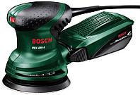 Эксцентрированная шлифовальная машинка 220 вт pex220a BOSCH