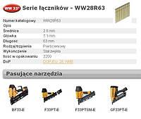 Гвозди BOSTITCH -проволока 2, 8мм x 63 мм 2200 шт. 33` Stanley-BOSTITCH