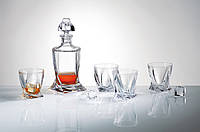 Набор для виски Bohemia Quadro-7пр