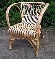 Плетеное креслоиз натуральной лозы под заказ