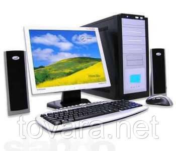 Компьютера, мониторы, сервера