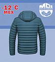 Куртка утепленная мехом MOC  размеры 52, 56, фото 2