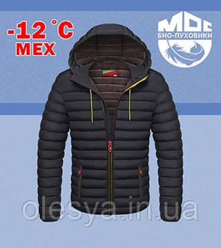 Куртка короткая с капюшоном MOC