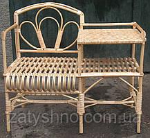 Кресло-стол плетеное ручной работы
