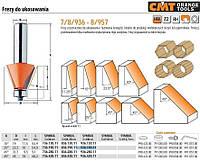 Фреза для снятия фасок с подшипником CMT hm а=25 d=22,2 i=10 s=8