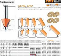 Фреза для снятия фасок с подшипником CMT hm а=30 d=38,5 и=22 s=12