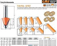 Фреза для снятия фасок с подшипником CMT hm а=45 d=45, и=18 s=12