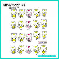 Слайдер дизайн для ногтей Котята, котенок