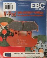 Тормозные колодки EBC FA124/2V