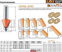 CMT  фрезы для снятия фасок с подшипником hm a=45, d=65 I=26, s=12