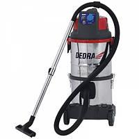 Пылесос промышленный с водяным фильтром 1400Вт Dedra