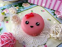Милый макарун (мыло ручной работы) Фиолетовый