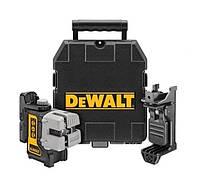 Лазер линейный Dewalt / перекрестный кейс + держатель /dw089k
