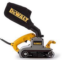 Угловая шлифовальная машина ленточная Dewalt 1010Вт 75x533мм dwp352vs