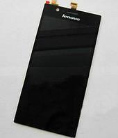 Дисплей для Lenovo K900 + touchscreen, чёрный (микросхема Synaptics),