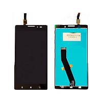 Дисплей для Lenovo K910 Vibe Z + touchscreen, чёрный