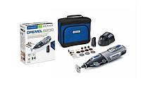 Аккумуляторный шлифовальный станок multi 8200 + 2 x 2ah + аксессуары 20шт. Dremel