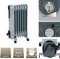 Радиатор масляный Einhell г-715/1 7-ребер 600/900/1500Вт термостат