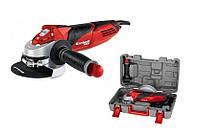 Угловая шлифовальная машина Einhell te-ag 125 мм 750Вт set red