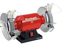 Настольный шлифовальный станок Einhell 400Вт 200мм тк-bg 200 red