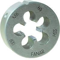 Плашка Fanar м3 x 0,50 hss800 din 22568